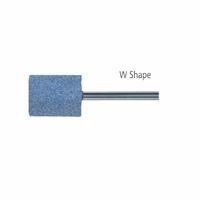 "W Shapes 1/4"" Shank AWCO Ceramic - Blue"