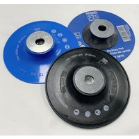Backing Pads For Resin Fibre Discs - General Purpose / High Performance / High Temperature