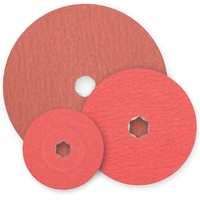 COMBICLICK Resin Fibre Discs Aluminium Oxide A-COOL - Various Sizes
