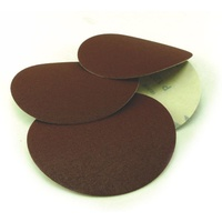 Paper Velstick Discs No Hole E28V Aluminium Oxide Stearated E Weight - 125mm