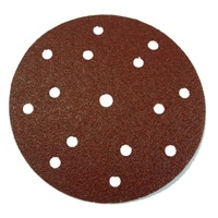 Paper Velstick Discs 15 Hole E28V Aluminium Oxide Stearated E Weight - 150mm