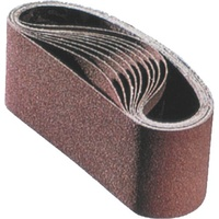 Portable Sanding Belts - Aluminium Oxide - Various Sizes & Grits