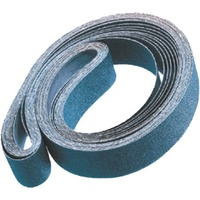 Linishing Belts - Zirconia - Premium Top Size - Various Sizes & Grits