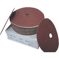 Floor Sanding Edger Discs - CLOTH - 180mm - Aluminium Oxide - Various Grits