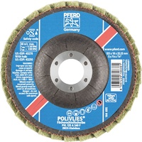 POLIVLIES Surface Conditioning Flap Disc  PVL 125 A Fine - Blue