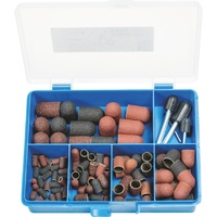 110pc POLICAP Abrasive Caps & Holders C Type  PCS 110 C