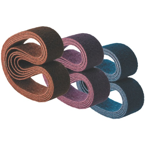 Linishing Belts - Surface Conditioning Material - Various Sizes & Types